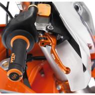 Front Brake Lever Power Parts Brembo Orange KTM 7871399204404 (7871399204404)