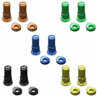 Nihilo Concepts Rim Lock Nut Kit (Blue, Green, Orange, Yellow, Black) (NRLN)