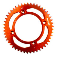 SuperSprox Rear Sprocket KTM 85SX 46-51T (Black, Orange)