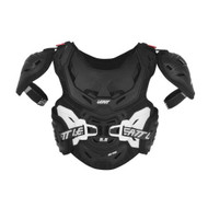 2018 Leatt 5.5 HD Pro Junior Black/White Chest Protector