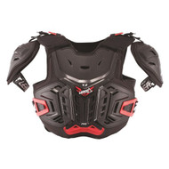 2018 Leatt 4.5 Pro Junior Black/Red Chest Protector