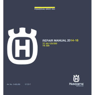 Husqvarna TC85 CD Repair Manual 2014-2019 3403069