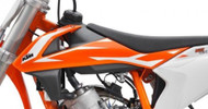Pair of Radiator Shrouds/ Spoiler Set/ Air Scoops KTM 50SX, KTM 50SX Mini 2018 (45308054000EBB)