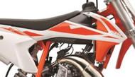 Pair of Radiator Shrouds/ Spoiler Set/ Air Scoops KTM 50SX, KTM 50SX Mini 2019 (4530805400028B