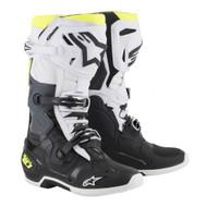 Alpinestar Tech 10 Boot Black/White/Yellow Fluo A1001912509