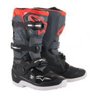 Alpinestars Tech 7S Boot Black/Dark Grey/Red Fluo A15017113307