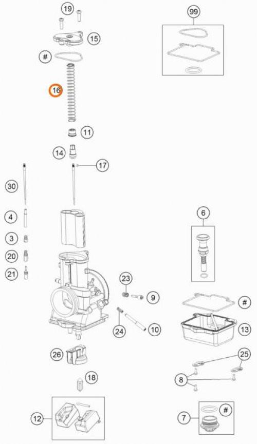 Suzuki Ltz 400 Carburetor Diagram