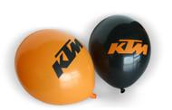 KTM Balloons (Pack of 100, Black and Orange)