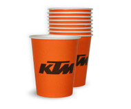 KTM Paper Party Cups (Pack of 50)