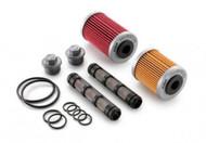 KTM OEM Oil FIlter Kit for 690 Duke/SMC/Enduro (75038046110)