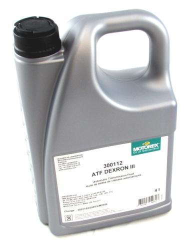Motorex ATF Dextron 3 - 4 Litre