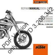 KTM OEM DVD Repair Manual 655SX 2009-2019 (3206342)