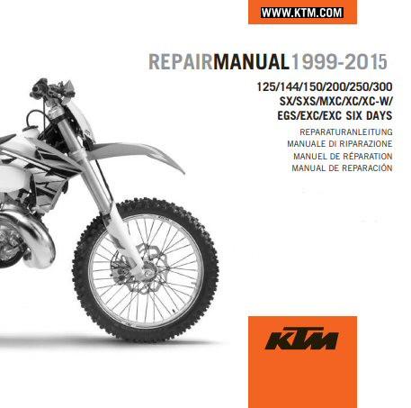 Edit a Product - KTM OEM DVD Repair Manual 125/144/150/200/250/300 SX/XC/EXC 1999-2015 (3206207)