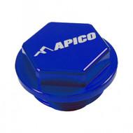 APICO KTM SX 125-450 2004 on Blue Rear Brake Cover (RBC007)
