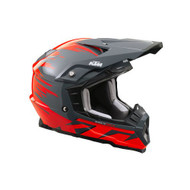 KTM Kids Dynamic Helmet - Fluorescent Red (3PW1799102, 3PW1799103, 3PW1799104)