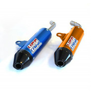 HGS Exhaust Silencer in Blue or Orange with Carbon Tip for SX/TC 125 2019>