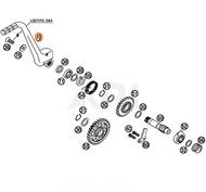 KTM KICK STARTER CPL. 77033170044 - part number 70 in the diagram
