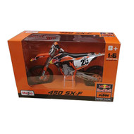 KTM 450 SX-F Marvin Musquin 1:6 Scale Toy (TOY046)