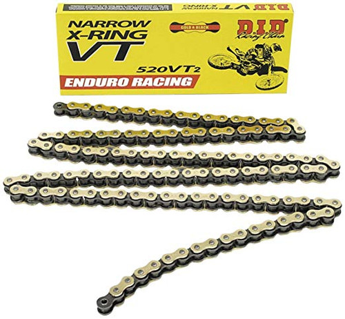 DID X Ring 520 Chain ERVT2 120 Links Enduro Chain
