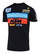 TROY LEE DESIGNS KTM Team Tee Black (UPW19000550X)