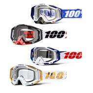 NEW 100% Racecraft Goggles Clear Lens 2019