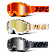 NEW 100% Racecraft Goggles Mirrored Lens 2019 (50110)