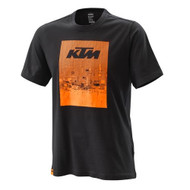 KTM Radical Tee Black - Mens T-Shirt Mens Sizes: XS - 3PW200022401 S - 3PW200022402 M - 3PW200022403 L - 3PW200022404 XL - 3PW200022405 XXL - 3PW200022406