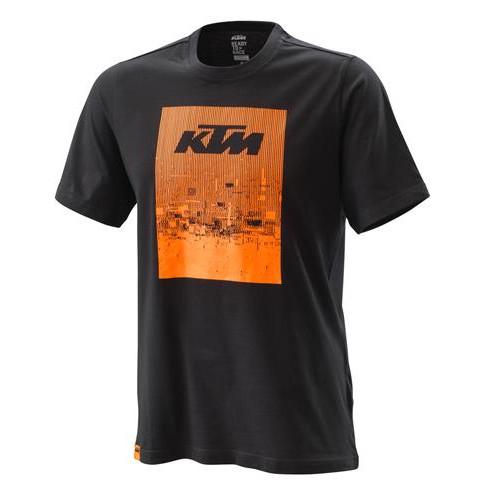 KTM Radical Tee Black - Mens T-Shirt Mens Sizes: XS - 3PW200022401 S - 3PW200022402 M - 3PW200022403 L - 3PW200022404 XL - 3PW200022405 XXL - 3PW200022406