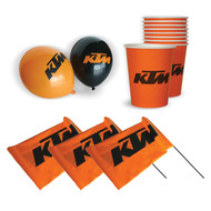 KTM Party Pack | Balloon & Party Cup Set (KTMPARTYKIT)