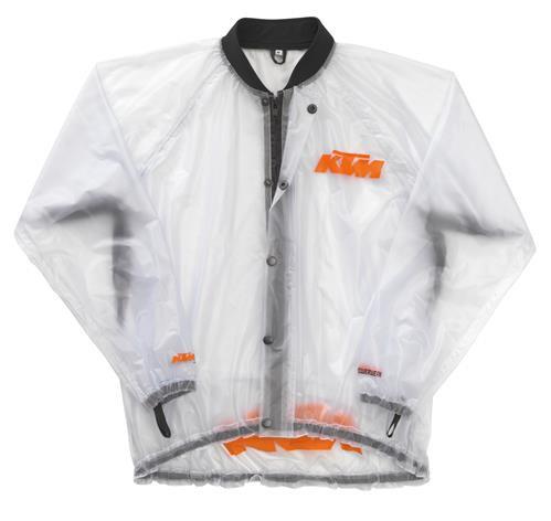 KTM Genuine Rain Jacket Transparent (3PW142170X)