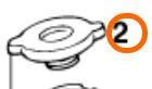 RADIATOR CAP SMALL 20,3 PSI (58035016000)