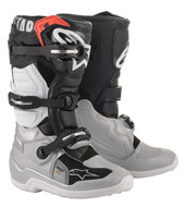 Alpinestars Tech 7 Boots | Black/Silver/White Gold (A15017182907)