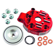 Bud Racing Honda CR125 Cylinder Head 2004 Red