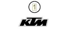 Decal Startnmberplate (KTM) | NEW PART (79108095000)