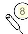 STUD M8X41 (46030043000)