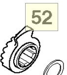 KICKSTARTER RATCHET (50333052000)