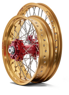 Talon Adventure Wheels SET Pro Billet Red/Gold (TW002)