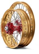 Talon Adventure Wheels SET Pro Billet Red/Gold (TW002)
