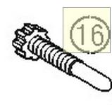 THROTTLE VALVE SCREW M6X30 (46031019000)