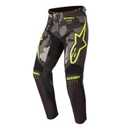 ALPINESTARS 2020 YOUTH RACER TACTICAL PANTS BLACK/GREY CAMO/YELLOW FLUO (A3741220115426)