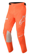 ALPINESTARS 2020 YOUTH RACER TECH PANTS ORANGE FLUO/WHITE/BLUE (A374072044726)