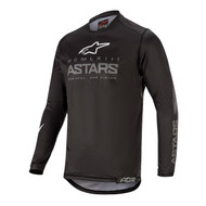 ALPINESTARS 2020 YOUTH RACER GRAPHITE JERSEY BLACK/DARK GREY (A3772320111M)