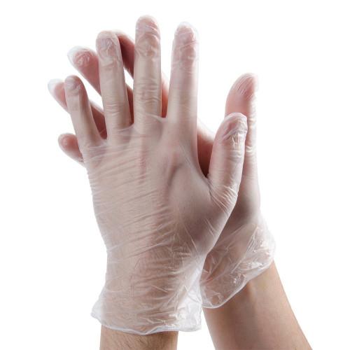 Mechanic workshop vinyl gloves Box 100