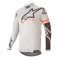 ALPINESTARS 2020 YOUTH RACER COMPASS JERSEY LIGHT GREY/BLACK (A37721209210M)