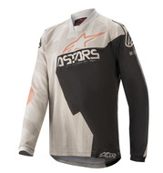 ALPINESTARS 2020 YOUTH RACER FACTORY JERSEY GREY/BLACK/RUST (A37710209106M)