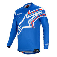 ALPINESTARS 2020 YOUTH RACER BRAAP JERSEY BLUE/OFF WHITE (A37714207250M)