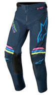 ALPINESTARS 2020 YOUTH RACER BRAAP PANTS NAVY/AQUA/PINK FLUO (A3741420763926)