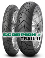 Pirelli Scorpion Trail II 170/60R17 Rear Tyre
