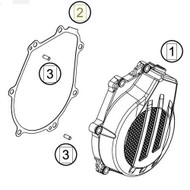 IGNITION COVER GASKET (79430040000)