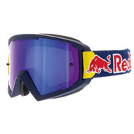 Red Bull Spect WHIP MX Goggles - Matt Blue, Blue Headband, Blue Mirror (WHIP-001) Side view